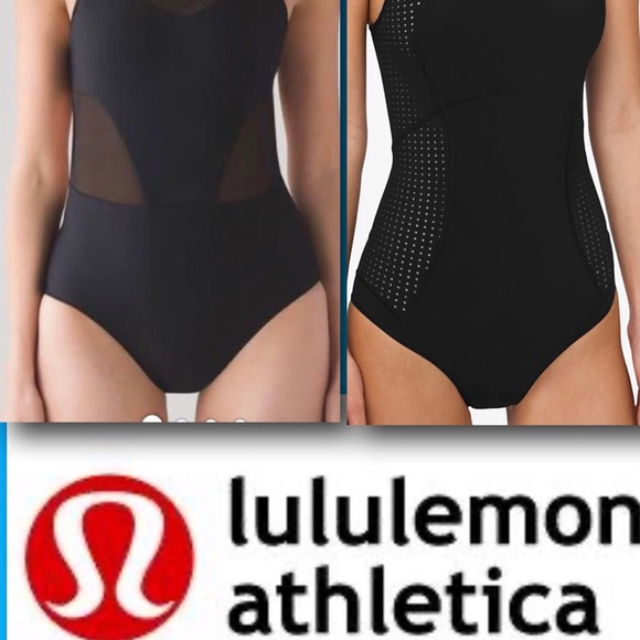 Lululemon Athetlica swim, NEW! Zipper at the back!